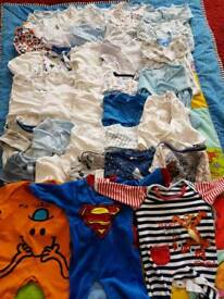 161 items. 0-3 months boys clothes