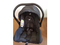 Brand new Joie carseat compatible with most joie buggys