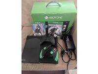 Xbox One with 2 controllers & 2 games