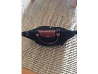 Medium longchamp black bag