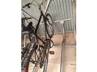 "Raleigh men's crossbar bike, 21"" frame"