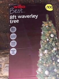 8Ft Christmas tree new in box