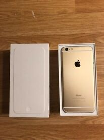 iPhone 6 Plus Gold 128GB Unlocked (Perfect Condition + Accessories)