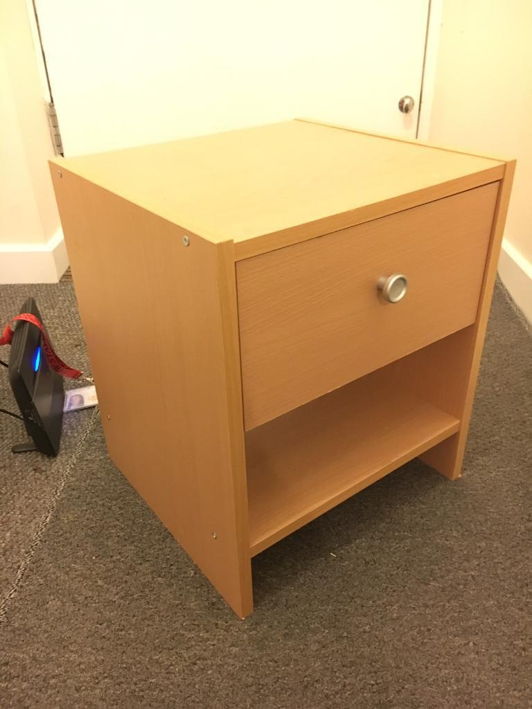 Bedside table, £5 - great condition!