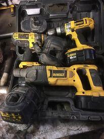 Dewalt combo drills and sds drill
