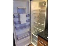 Beko silver grey fridge