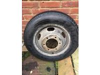 Unused Ford transit wheel/tyre