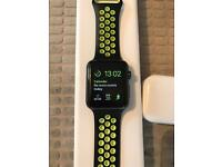 Apple Watch 1 42mm Space Grey + Extras