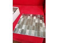 Pewter Linear Mosaic