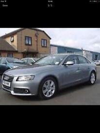 2011 Audi A4 parts breaking bcg