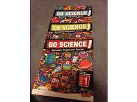 Science Key stage three 3 textbooks.