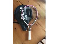 Prince girls junior tennis racket