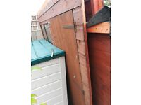 garden shed pent roof 7 ft x 5 ft heavy duty ship lap tongue groove
