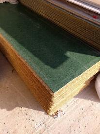 P5 Tongue & Groove Chipboard Floor Panel (L)2400mm (W)600mm (T)18mm. £8.00 per floor panel