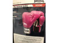Ladies pink boxing gloves