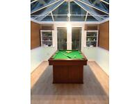 Pool Table (2.5x5ft playing surface)