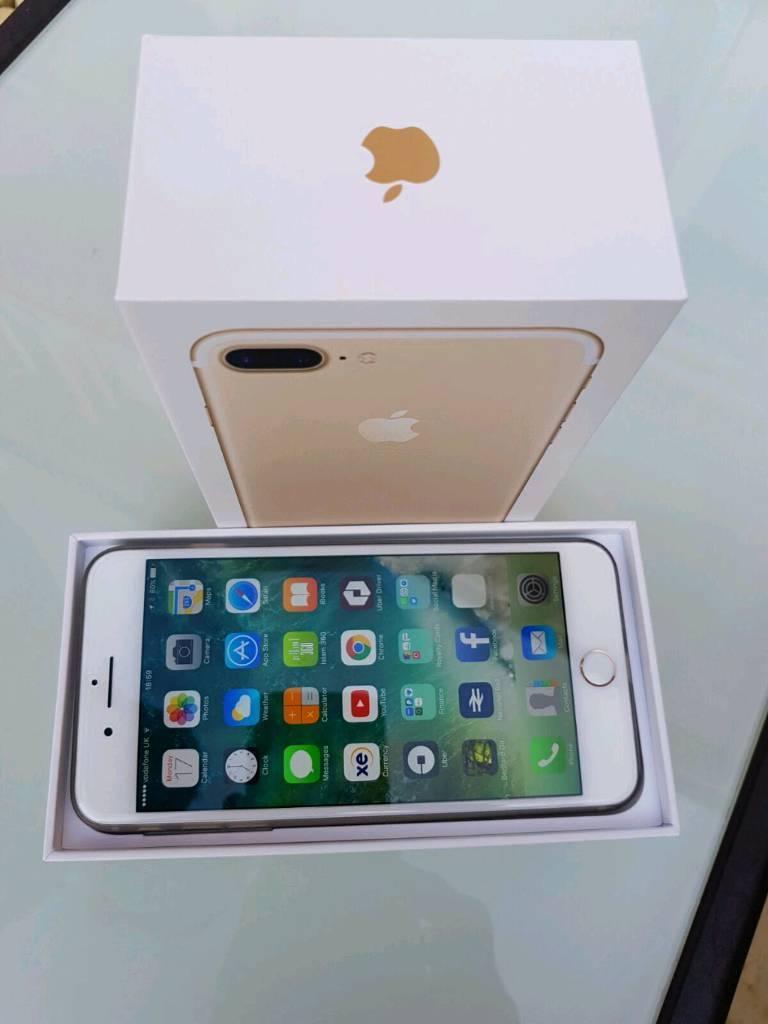 Excellent Condition Iphone 7 plus Gold 32gb.