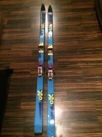 Rossignol ski's And bindings
