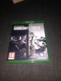 Rainbow 6 siege for Xbox 1