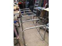 Bicycle rack/holder bike parking frame