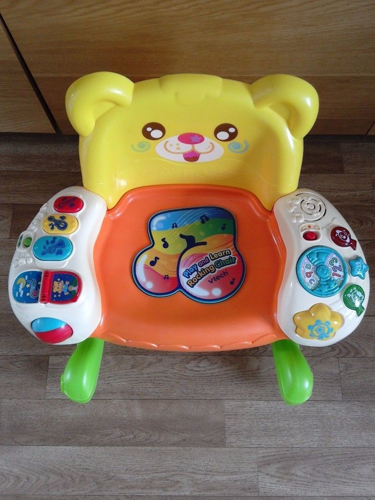 VTECH MUSICAL AND LEARNING ROCKING BABY CHAIR TOY