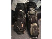 Pair of golf bags