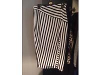 Boohoo Striped Skirt Size 12