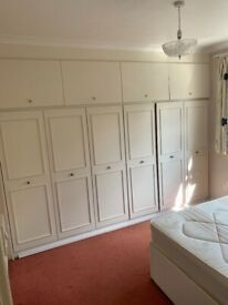 1 spacious double bed room in a 3 rooms shared beautiful flat