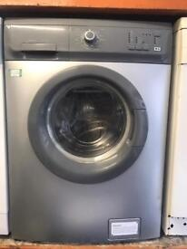 Zanussi washing machine silver