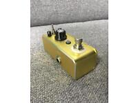 ROWIN Overdrive mini pedal LEF-602B very similar to MOOER Green mile or IBANEZ Guitar Effect