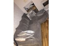 3 seater sofa and love chair