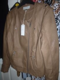 BRAND NEW Leather Jacket from House of Fraser