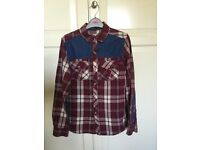 Boys long sleeve shirts 11/13 yo in nearly new condition. Hardly worn. Smoke free home. Like new.