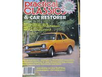 classic ford car magazine with frod rs supplement