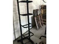 Vertical Medicine Ball Storage Rack - Weights Gym