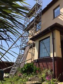 Alloy scaffold tower massive 12 m working height