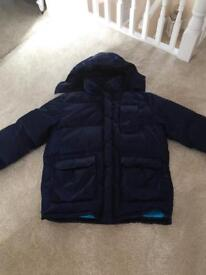 Men's large down winter coat