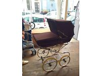 Vintage, Old Fashioned Pram, perfect working order