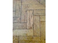 Reclaimed Oak Parquet Flooring - 1,000 m2 in stock!