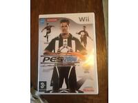 Wii PES 2008 Game