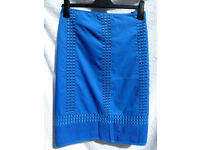 Monsoon Lined Cotton Skirt (Size 20)