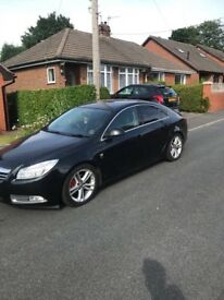 Vauxhall insignia 2010 with private plate