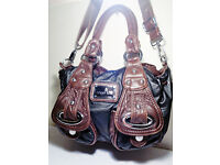 Angel Kiss Black & Brown Shoulder / Handbag