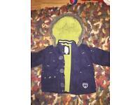 Baby boys 3-6 months Junior J coat