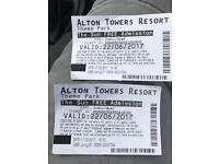 Alton towers 22nd June (today)