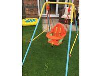 Nursery Swing 8 weeks old Use Indoor or Out