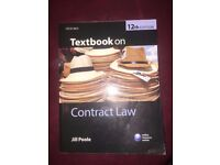 Textbook on Contract Law 12th Edition by Jill Poole