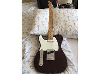 Left handed Fender Telecaster
