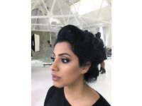 Bridal makeup artist and hair stylist