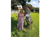 Bridesmaid dress size 20 worn once